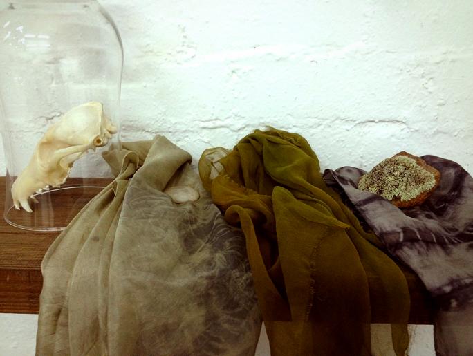 Silk habutai, tissue silk and silk satin scarves